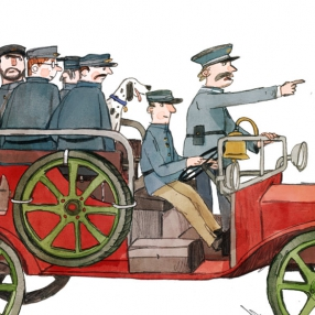 The history of fire brigades